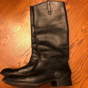 Shoes - Frye Black Riding Boots
